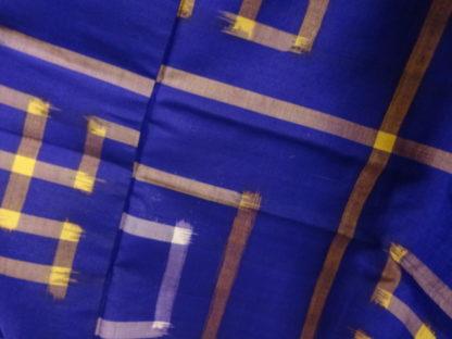 purple meisen swastika kimono