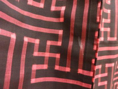taisho black red saya