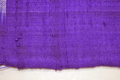 Antique meisen silk woven crosses and squares fabric